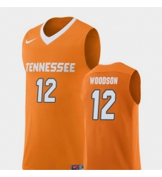 Men Tennessee Volunteers Brad Woodson Orange Replica College Basketball Jersey