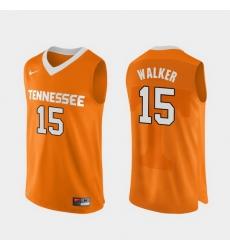 Men Tennessee Volunteers Derrick Walker Orange Authentic Performace College Basketball Jersey