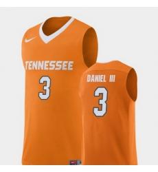 Men Tennessee Volunteers James Daniel Iii Orange Replica College Basketball Jersey