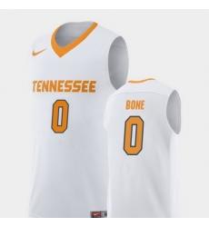 Men Tennessee Volunteers Jordan Bone White Replica College Basketball Jersey