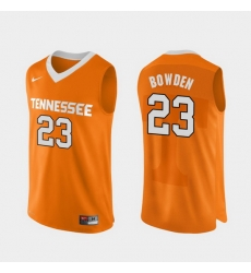 Men Tennessee Volunteers Jordan Bowden Orange Authentic Performace College Basketball Jersey
