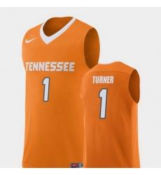 Men Tennessee Volunteers Lamonte Turner Orange Replica College Basketball Jersey