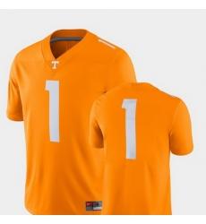 Men Tennessee Volunteers Tenn Orange College Football 2018 Game Jersey