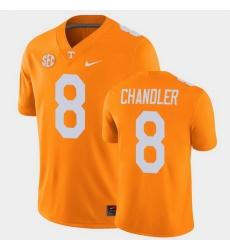 Men Tennessee Volunteers Ty Chandler College Football Orange Alumni Player Game Jersey