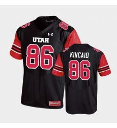 Men Utah Utes Dalton Kincaid Replica College Football Black Jersey