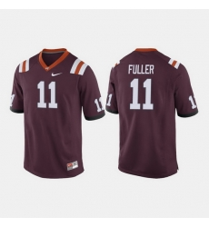 Men Virginia Tech Hokies Kendall Fuller College Football Maroon Jersey