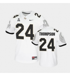 Men Ucf Knights Bentavious Thompson College Football White Untouchable Game Jersey