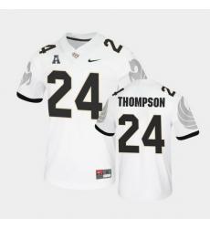Men Ucf Knights Bentavious Thompson College Football White Untouchable Game Jersey