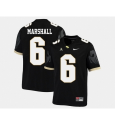 Men Ucf Knights Brandon Marshall Black College Football Aac Jersey