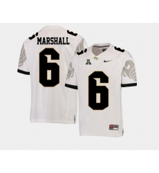 Men Ucf Knights Brandon Marshall White College Football Aac Jersey