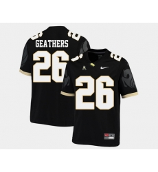 Men Ucf Knights Clayton Geathers Black College Football Aac Jersey