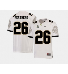 Men Ucf Knights Clayton Geathers White College Football Aac Jersey
