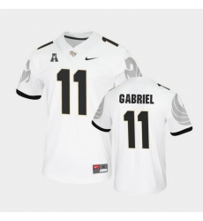 Men Ucf Knights Dillon Gabriel College Football White Untouchable Game Jersey