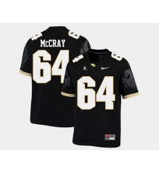 Men Ucf Knights Justin Mccray Black College Football Aac Jersey