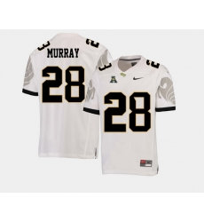Men Ucf Knights Latavius Murray White College Football Aac Jersey
