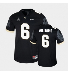 Men Ucf Knights Marlon Williams College Football Black Game Jersey