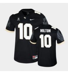 Men Ucf Knights Mckenzie Milton College Football Black Game Jersey