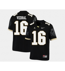 Men Ucf Knights Noah Vedral Black College Football Aac Jersey