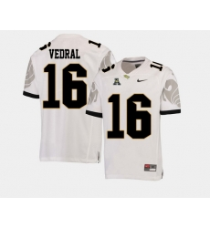 Men Ucf Knights Noah Vedral White College Football Aac Jersey
