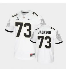 Men Ucf Knights Samuel Jackson College Football White Untouchable Game Jersey