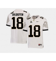Men Ucf Knights Shaquem Griffin White College Football Aac Jersey
