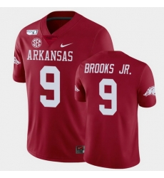 Men Arkansas Razorbacks Greg Brooks Jr. College Football Cardinal Game Jersey
