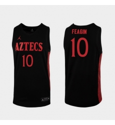 Men San Diego State Aztecs Kj Feagin Replica Black College Baketball 2019 20 Jersey