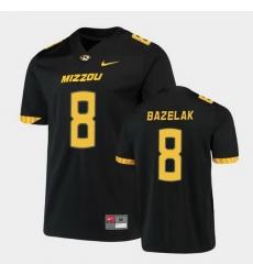Men Missouri Tigers Connor Bazelak Untouchable Game Black Jersey
