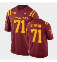 Men Iowa State Cyclones Alex Kleinow College Football Cardinal Replica Jersey