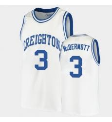 Men Creighton Bluejays Doug Mcdermott Alumni White College Basketball Jersey