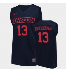 Men Dayton Flyers Kostas Antetokounmpo College Basketball Navy Jersey