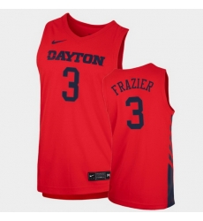 Men Dayton Flyers Luke Frazier Replica Red College Basketball 2020 21 Jersey