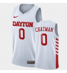 Men Dayton Flyers Rodney Chatman College Basketball White Jersey