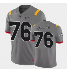 Men Air Force Falcons Adam Jewell Game Anthracite Red Tails Alternate Jersey