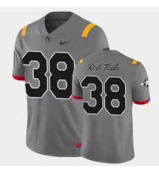 Men Air Force Falcons Demonte Meeks Game Anthracite Red Tails Alternate Jersey