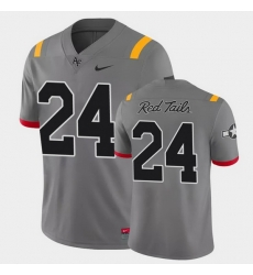 Men Air Force Falcons Kadin Remsberg Game Anthracite Red Tails Alternate Jersey