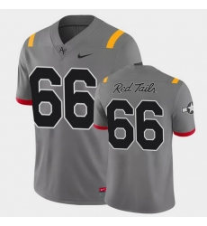 Men Air Force Falcons Nolan Laufenberg Game Anthracite Red Tails Alternate Jersey