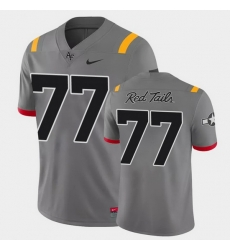 Men Air Force Falcons Parker Ferguson Game Anthracite Red Tails Alternate Jersey