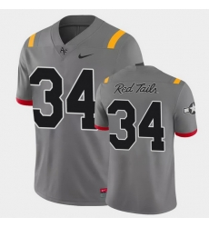 Men Air Force Falcons Timothy Jackson Game Anthracite Red Tails Alternate Jersey
