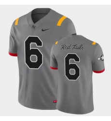 Men Air Force Falcons Warren Bryan Game Anthracite Red Tails Alternate Jersey