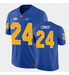 Men Pitt Panthers James Conner College Football Royal Game Jersey