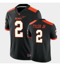 Men Oregon State Beavers Calvin Tyler Jr. College Football Black Game Jersey