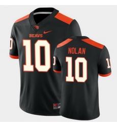 Men Oregon State Beavers Chance Nolan College Football Black Game Jersey