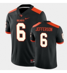 Men Oregon State Beavers Jermar Jefferson College Football Black Game Jersey