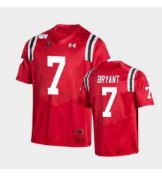 Men Cincinnati Bearcats Coby Bryant College Football Red Game Replica Jersey