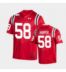 Men Cincinnati Bearcats Darius Harper College Football Red Game Replica Jersey