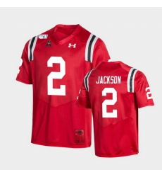 Men Cincinnati Bearcats Jayshon Jackson College Football Red Game Replica Jersey