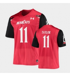 Men Cincinnati Bearcats Leonard Taylor Replica Red Football Jersey