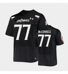 Men Cincinnati Bearcats Vincent Mcconnell Replica Black Football Jersey