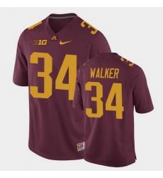 Men Minnesota Golden Gophers Brock Walker Replica Maroon College Football Jersey